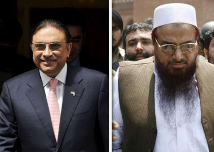 hafiz saeed not to be focus of talks with manmohan singh says zardari- India Tv