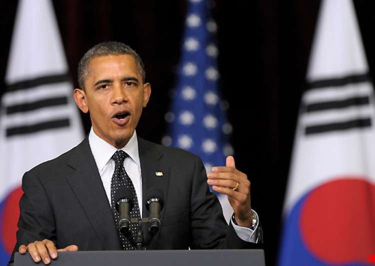 obama urges nkorea to pursue peace- India Tv