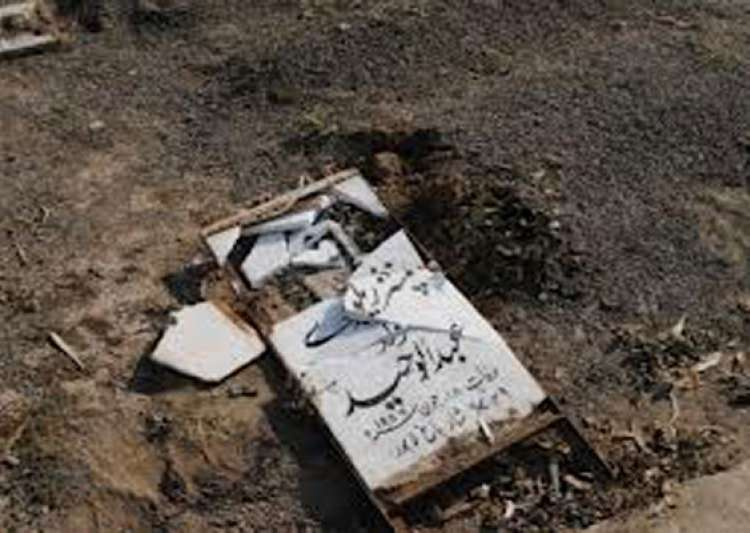 over 120 ahmadi graves desecrated in lahore- India Tv