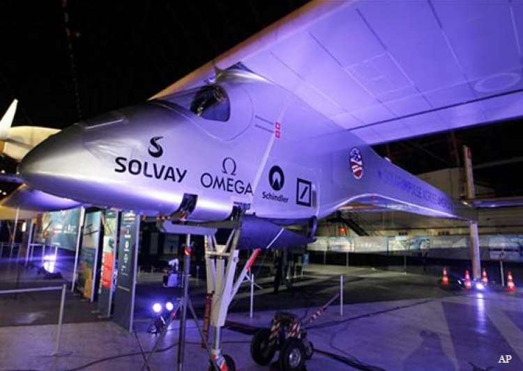 solar powered plane plans flight across us- India Tv