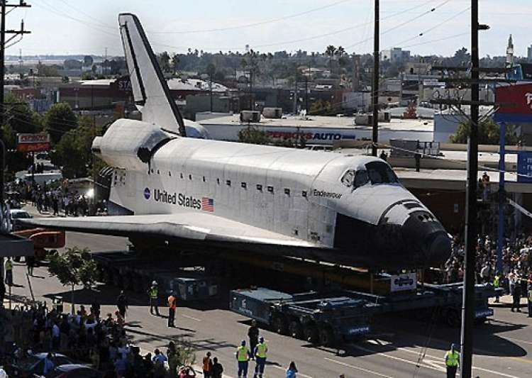 Space shuttle to take two days to cover 12 mile journey ...