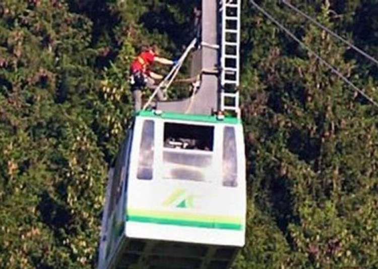 tourists trapped on german cable car for 17 hours- India Tv