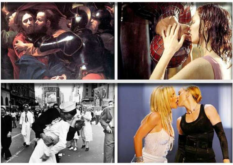 10 famous kisses in history- India Tv