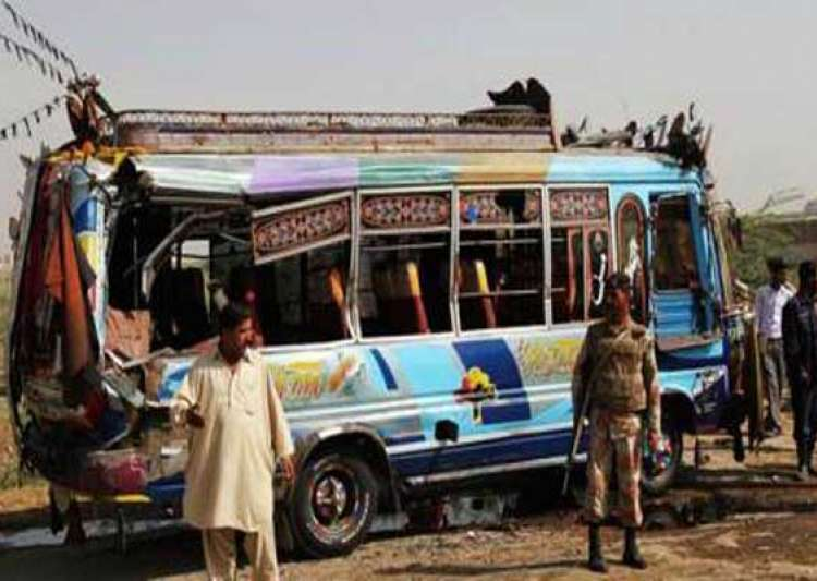 25 killed in pak bus accident- India Tv