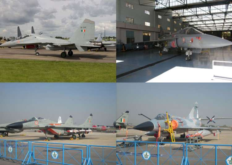 a look at the indian air force fighter jets- India Tv