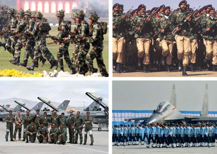 comparison between indian and pakistani armed forces- India Tv