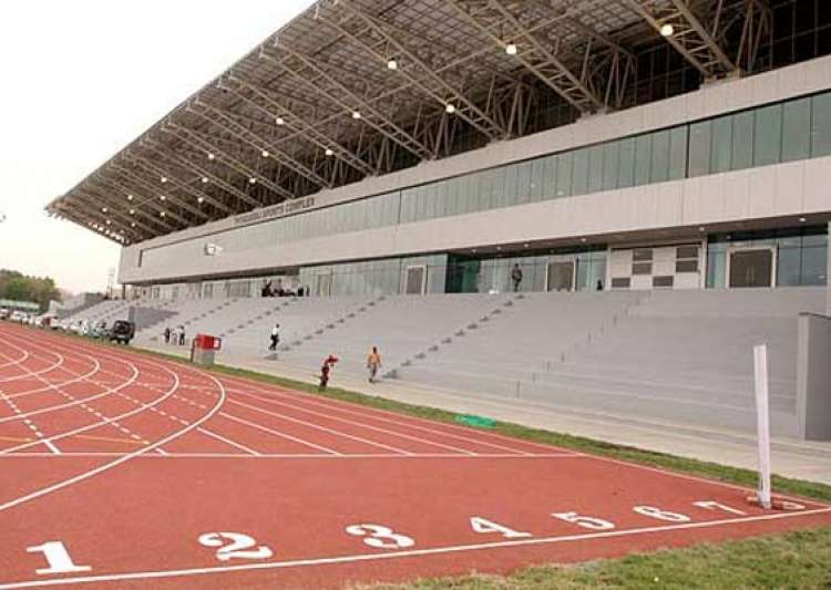 delhi s thyagaraj stadium becomes india s first green stadium- India Tv