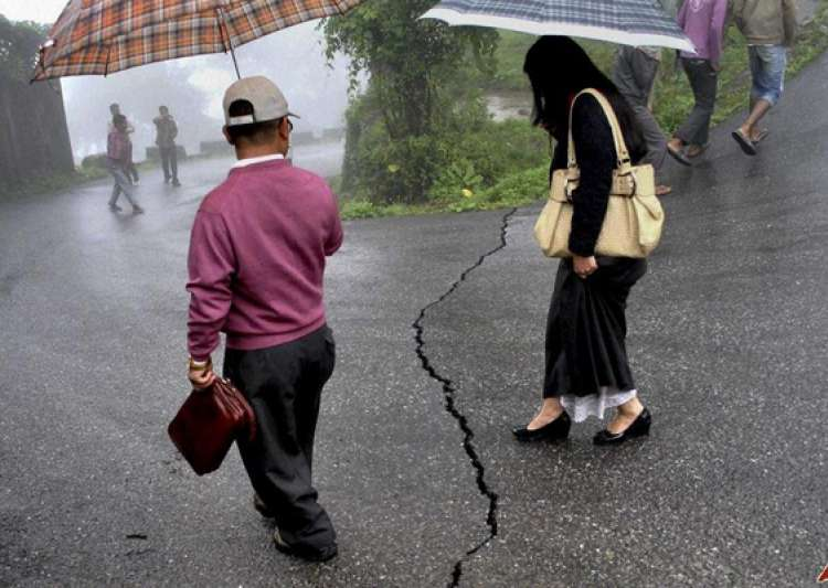 earthquake of moderate intensity rocks north east- India Tv