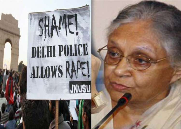 gangrape victim still critical as delhi cm battles police- India Tv