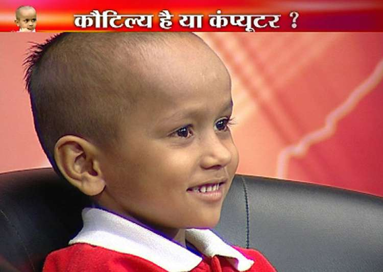 haryana s child prodigy kautilya appears on india tv