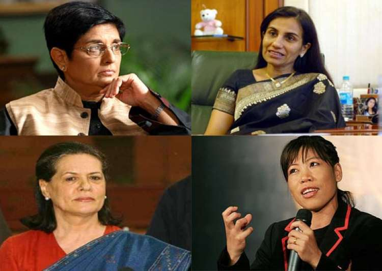 india s 7 most powerful women- India Tv