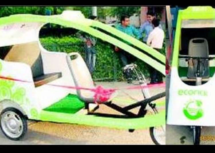 4 000 e rickshaws to flood delhi before games- India Tv