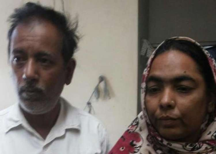 mp muslim couple assaulted on suspicion of carrying beef in- India Tv
