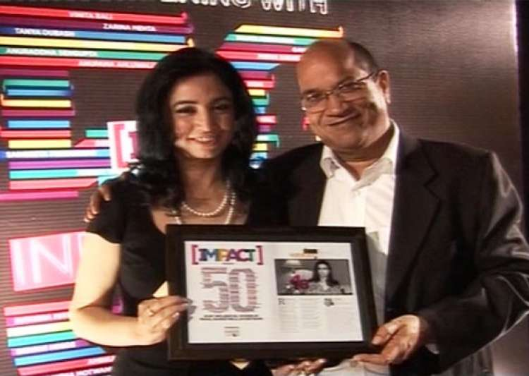 india tv ceo ritu dhawan gets impact most influential woman award- India Tv