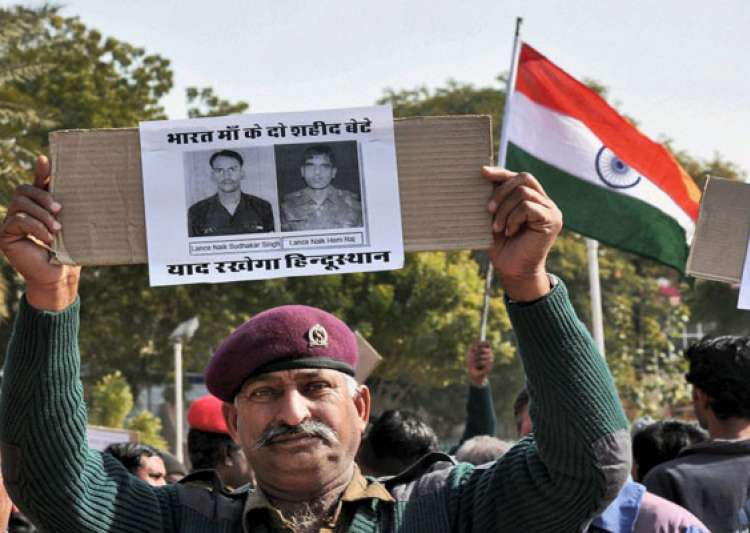 india demands punishment for pak brutes who killed indian jawans- India Tv