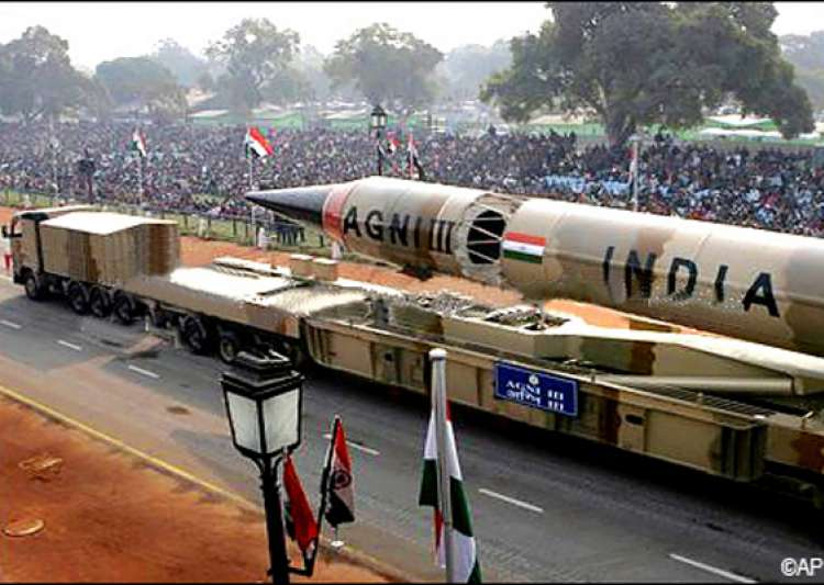 india displays its military might agni v missile at- India Tv