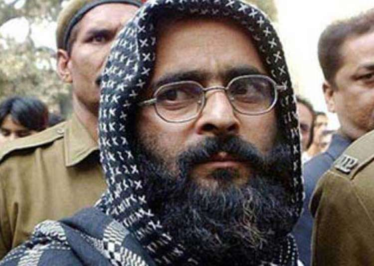 last days of afzal guru in tihar jail was staying 20 metres away from hangman s noose- India Tv