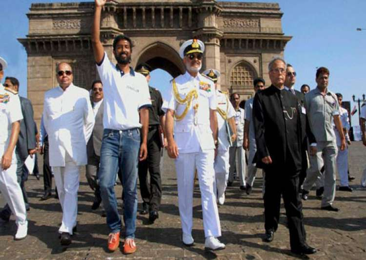 naval pilot abhilash tomy becomes first indian to sail- India Tv