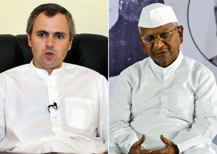 omar takes dig at team anna- India Tv