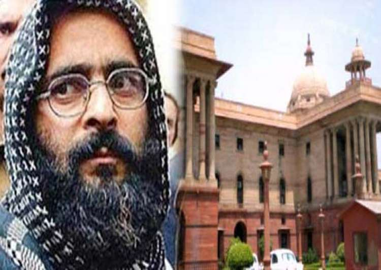parliament attack plotter afzal guru executed- India Tv