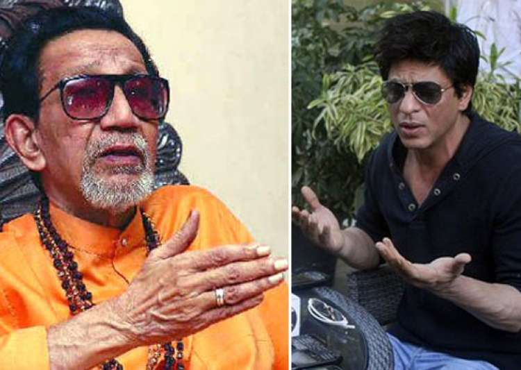 shah rukh has congress s protection says bal thackeray- India Tv