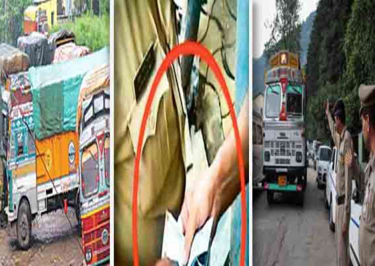shocking indian truckers pay rs 22 000 cr bribes a year on- India Tv