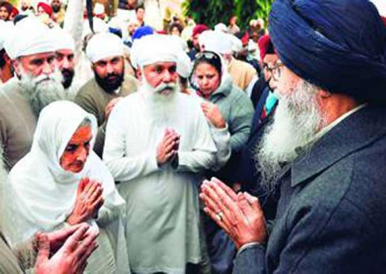 thakur uday singh installed as new namdhari sect chief