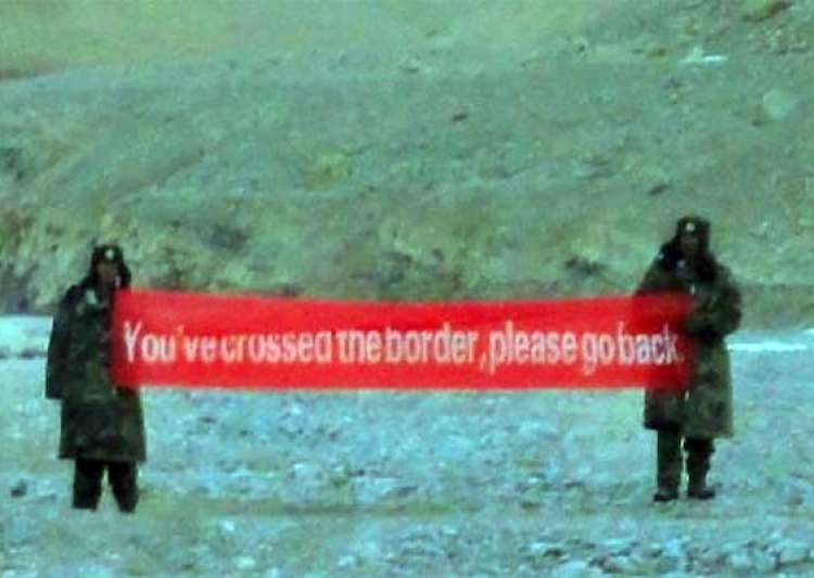 chinese troops intruded into indian side in ladakh abused locals in hindi broke camera equipment- India Tv