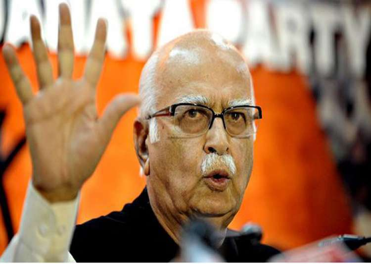 bjp will score a hat trick in gujarat claims advani- India Tv