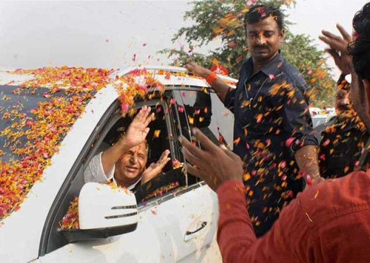saifai wears festive look to celebrate mulayam singh yadav- India Tv