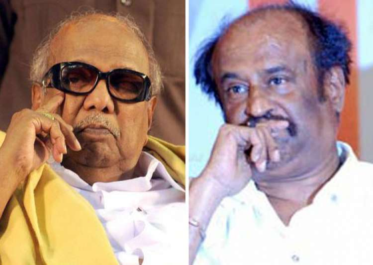 karunanidhi rajinikanth condole thackeray s death- India Tv