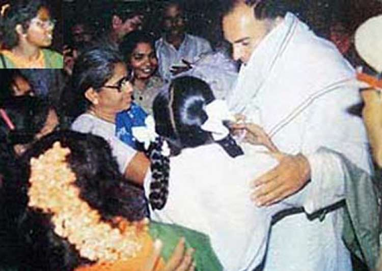 last moments of rajiv gandhi before he was assassinated