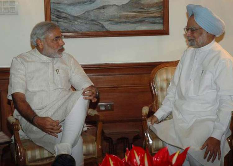 modi meets pm gives memorandum on sardar sarovar- India Tv