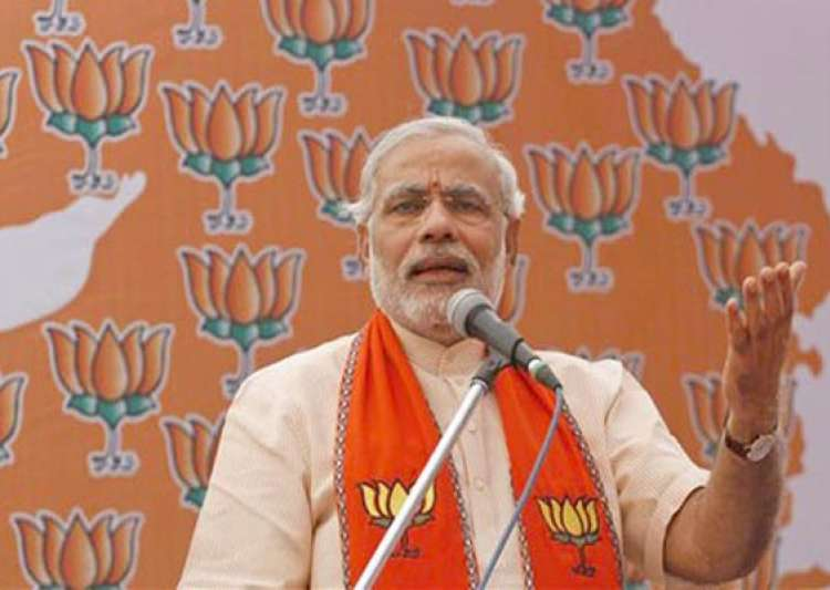 modi hattrick in gujarat congress wrests himachal pradesh