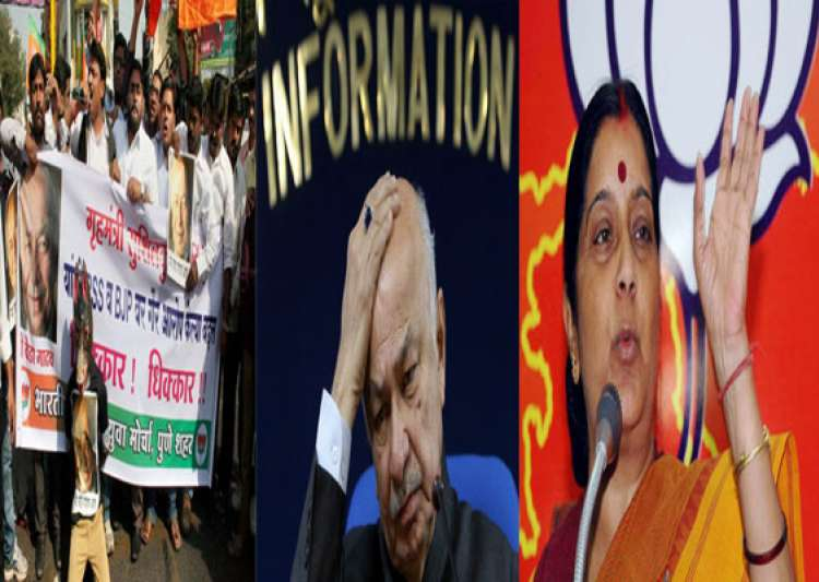 nationwide bjp protests against shinde s saffron terror- India Tv