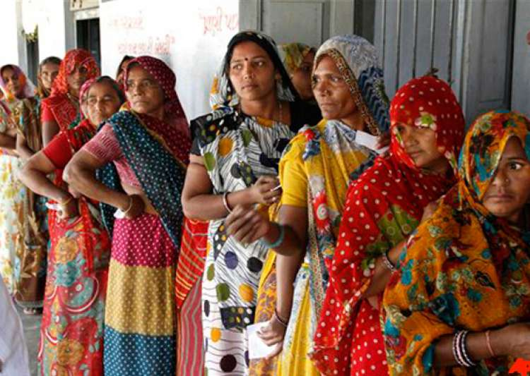 gujarat polls record 67 per cent turnout in modi versus rest battle- India Tv