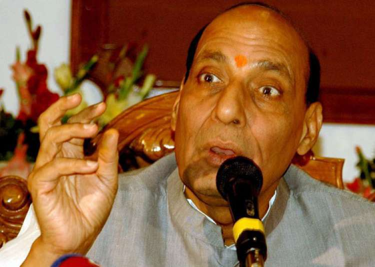 rajnath condoles loss of lives in allahabad stampede- India Tv