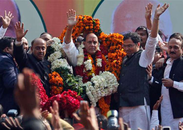 rajnath singh elected bjp president vows to bring back- India Tv