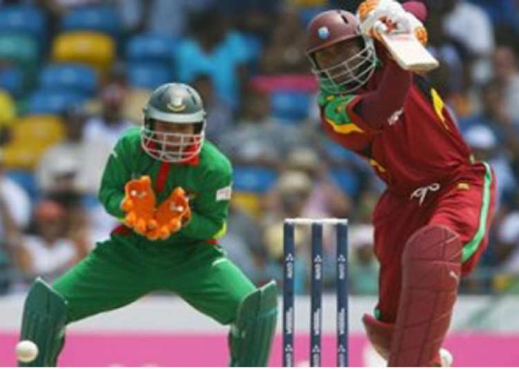 bangladesh bowls windies out for 217 in final odi