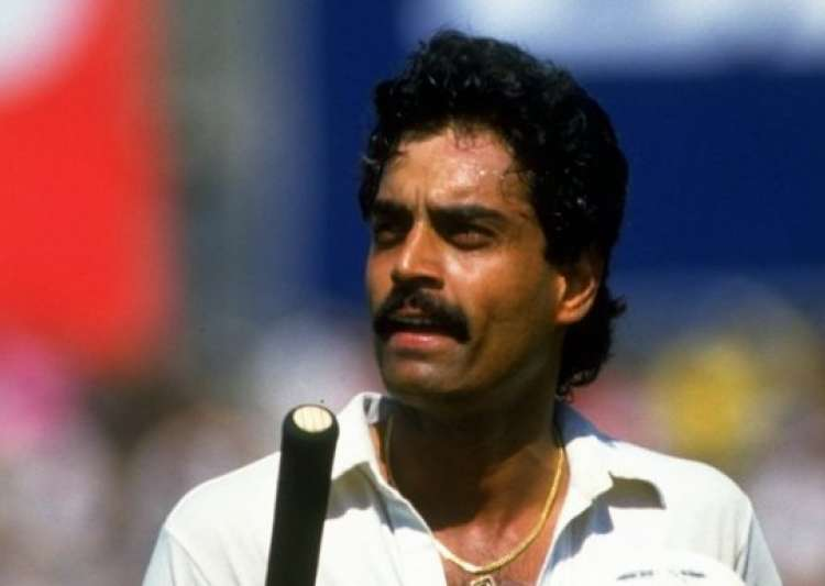 Image result for Dilip Vengsarkar playing