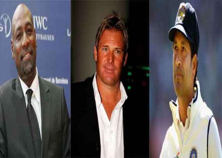 viv richards shane warne invited for sachin s 199th test- India Tv