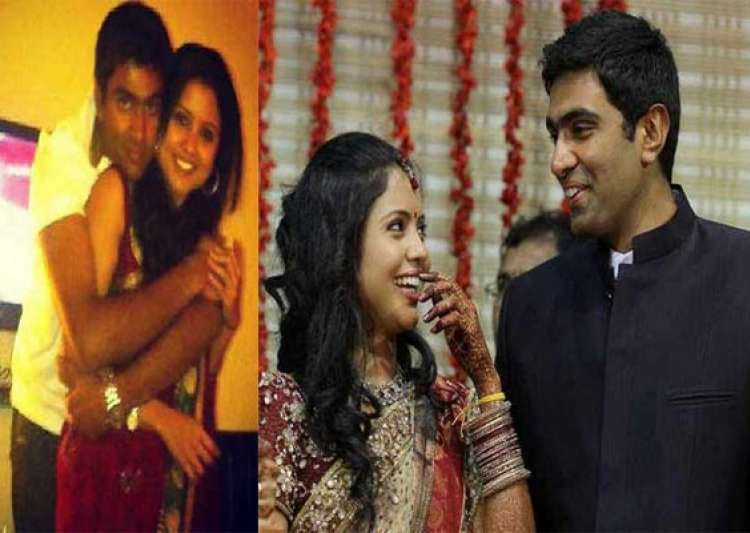 Watch pics of Ashwin spinning romance with his wife