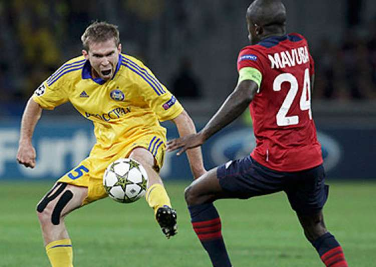 bate borisov beats lille 3 1 in champions league- India Tv