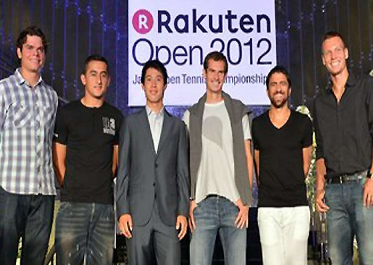berdych tipsarevic raonic in japan open quarters- India Tv