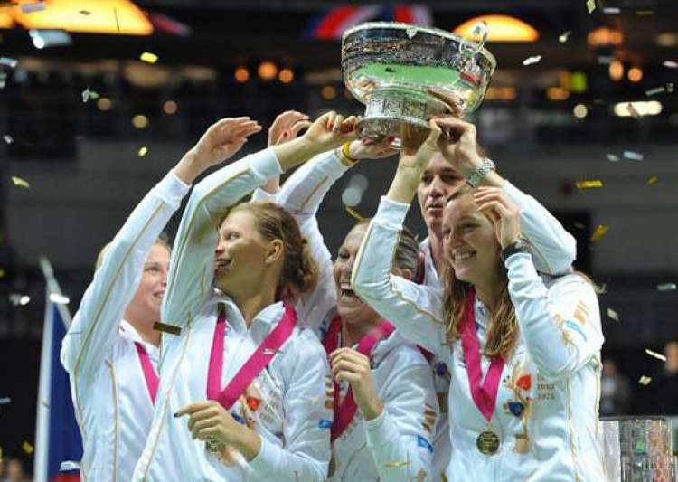 czechs retain fed cup title with 3 1 win vs serbia- India Tv