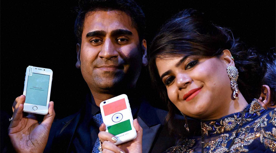 Ringing Bells, a Noida, UP-based company launches Freedom 251