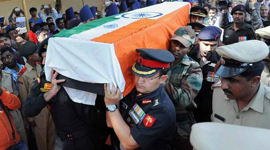 Jawan martyred in Pathankot airbase attack
