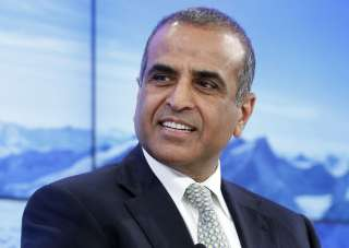 File pic of Bharti Enterprises chairman Sunil...