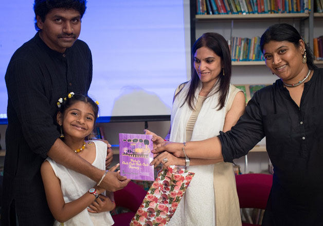 Seven year old Chennai girl publishes her first book
