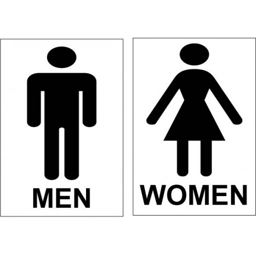 Xavier 39 s ngo seek general category staff for toilet cleaning Men women bathroom signs